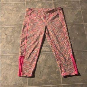Rainbow pink pants